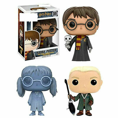 Funko Pop Harry Potter Draco Malfoy Moaning Myrtle Exclusive Action Figure Toys • 11.58£