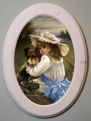 £21.99 • Buy Charles Burton Barber Framed Picture Art Print Wall Hanging Picture Frame White