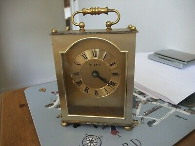 Vintage President Quartz Mantle Carriage Clock • 3.99£