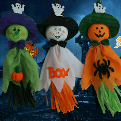 HALLOWEEN DECORATIONS Window Stickers Cling Spooky Hanging Party Decor Lot UK • 1.95£