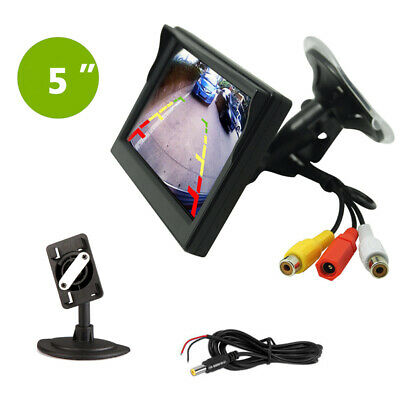 AU29.99 • Buy 5'' TFT LCD HD Screen Monitor For Car Rear View Reverse Backup Parking Camera