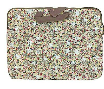 £12.87 • Buy THIRTY-ONE Free Spirit Ditzy Padded Floral Cloth Laptop Case (New) Womens Girls