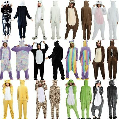 Adults Hooded Pyjamas & Robes | Novelty Animal All-In-One Pjs | CLEARANCE SALES • 12.60£