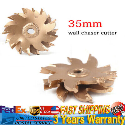 $26.69 • Buy NEW 35mm Slotting Machine Blade Cutting Wheel Cutter For Electric Wall Chaser