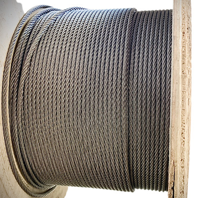 £3.20 • Buy  Wire Rope Stainless Steel A4 Marine Grade 7x7 7x19 3060 3055 Soft Cable & Flexi