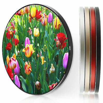 AU44.12 • Buy Wireless Charger For Apple Iphone 11/XS/8/Samsung S10/S9/S8/S7 - Tulip Flowers