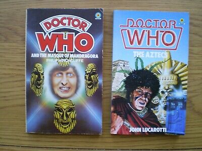2 Early DOCTOR WHO Paperback Novels  • 2.50£