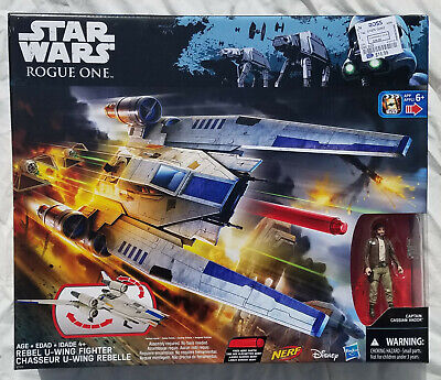 $ CDN56.80 • Buy Star Wars Rogue One Rebel U-Wing Fighter 3.75  Scale Vehicle 2016 New Sealed