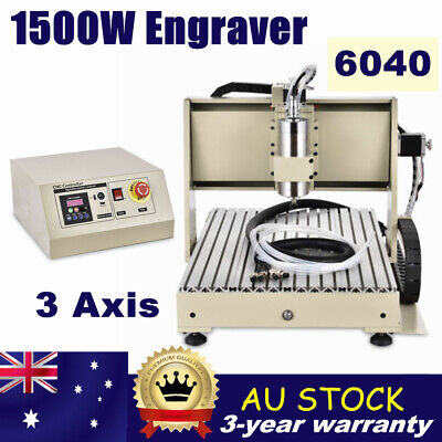 AU1140 • Buy 3 Axis CNC 6040 Engraving Drilling Milling Machine Cutter Engraver Router USED