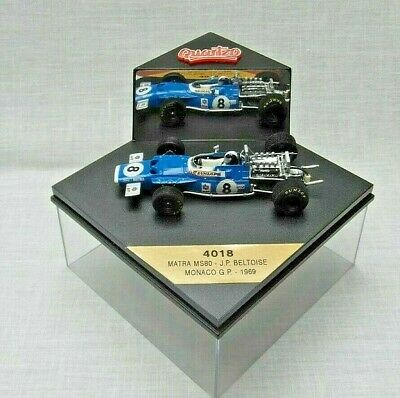 Quartzo. 4018 Matra MS80. J.P. Beltoise. Monaco GP. 1969 THE BEST. • 7.50£