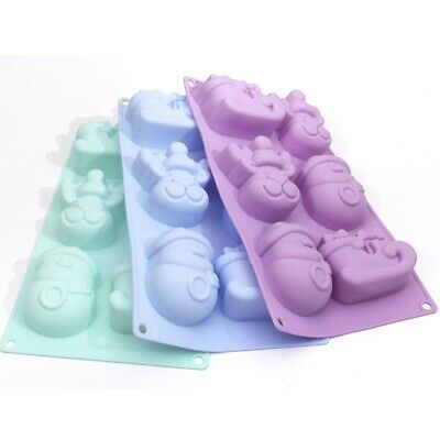 £4.31 • Buy Mould Christmas Craft Set Mold Soap Candle Silicone Tray Wax Melts Making