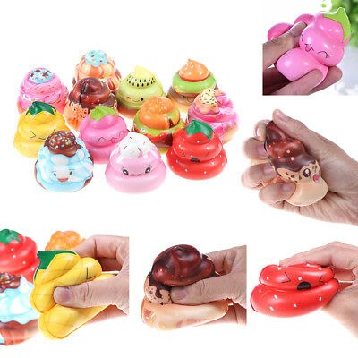 AU4.32 • Buy 1Pc Cute Poo Slow Rising Squeeze Toy Scented Stress Reliever Toy Charms Gift.DD