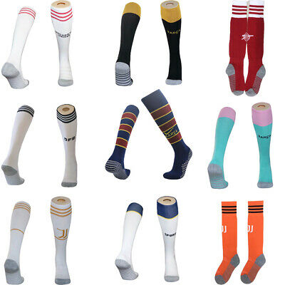 20-21 Football Kids Long Socks Soccer Boys Long Socks Youth Kits 3-14 Years • 5.99£