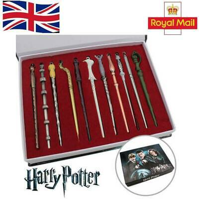 11PCS/Set Harry Potter Hermione Dumbledore Sirius Voldemort Fleur Magic Wand UK. • 12.99£