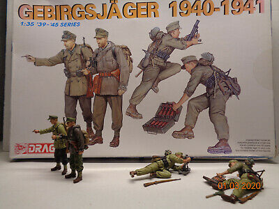 Dragon 6345 1/35 Scale Already Built And Hand-painted 4 Figures • 30£