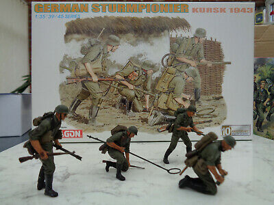 Dragon 6024 1/35 Scale Already Built And Hand-painted 4 Figures • 30£