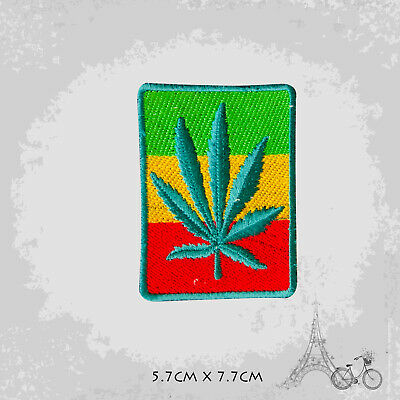 Rasta Flag Patch Iron On Patch Sew On Embroidered Patch • 2.09£
