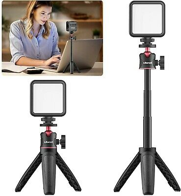 Video Conference Lighting Kit, ULANZI With Mini Adjustable Tripod, Rechargeable • 35.99£