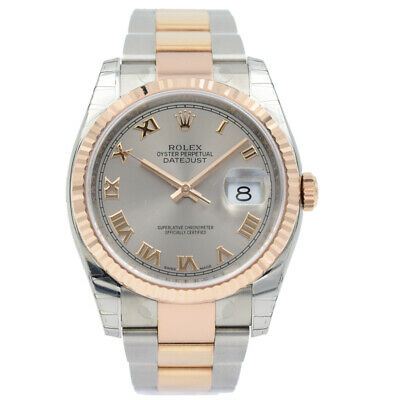 $ CDN15370.90 • Buy Rolex Datejust 116231 Two-Tone Rose Gold - 36mm 2020 Box And Papers