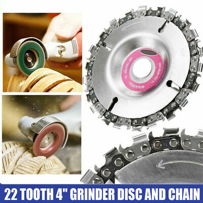 4  Angle Grinder Disc Tooth Chain Saw For Wood Carving Cutting Plastics Tool UK • 7.99£
