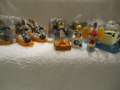 McDONALDS HAPPY MEAL TOY LOONEY TUNES 1996 - SEALED & PLAYED WITH CONDITION • 4.50£