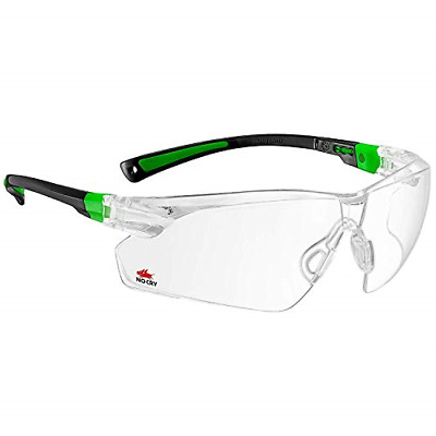 NoCry Safety Glasses With Clear Anti Fog Scratch Resistant Wrap-Around Lenses UV • 13.75£