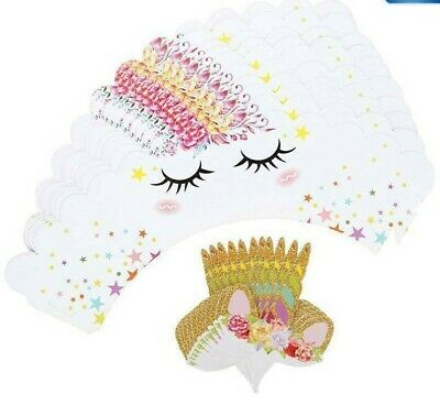 £4.85 • Buy 24 Unicorn Cupcake / Muffin Cases Liners Cup Cake Wrapper Cake Toppers Sets