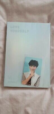 Bts Kpop Official Answer F Album With Jhope Photocard • 10£