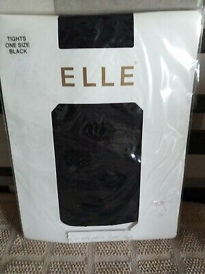 Elle Polka Dot Semi-opaque  Patterned Tights Black One Size  • 2.75£