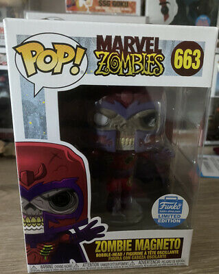 Funko Shop Exclusive Marvel Zombies Magneto Funko Pop Vinyl #663 • 31£