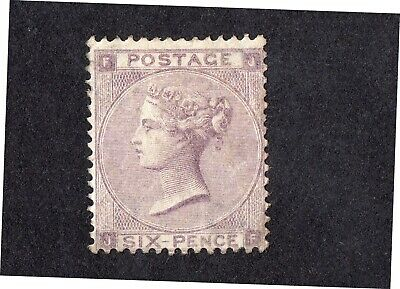 Queen Victoria SG83 6D LILAC MINT NEVER HINGED WITH SOME GUM PLATE 3 CAT £2800 • 16.78£