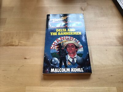 Doctor Who-Delta And The Bannerman  Target Books By Malcolm Kohll Paperback • 0.99£