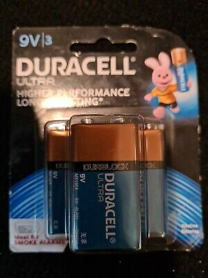 AU15 • Buy Duracell Smoke Alarm Battery 9 Volt Value 3 Pack