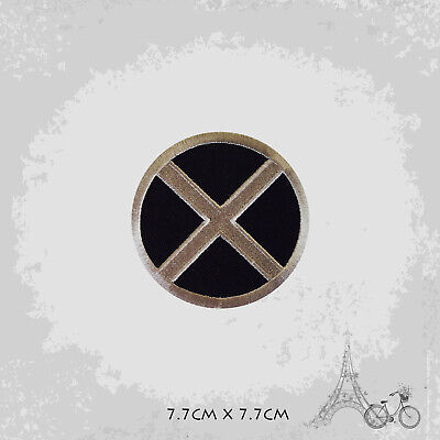 £1.99 • Buy X Men Superhero Movie Patch Iron On Patch Sew On Embroidered Patch