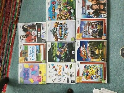 Wii Game Bundle 11 Games (1 New And Sealed • 12.50£