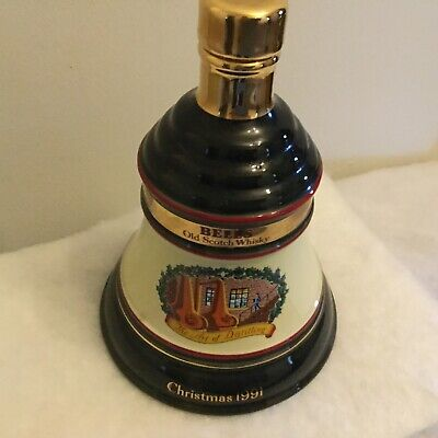 Vintage Wade Bells Whisky Christmas 1991 Decanter • 40£