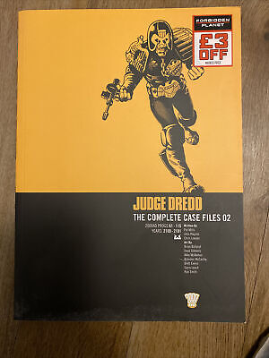 Judge Dredd: V. 2: Complete Case Files By Pat Mills, John Wagner (Paperback,... • 4.90£