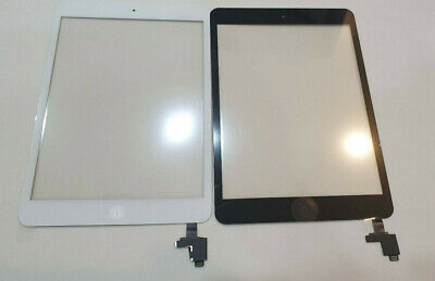 GENUINE IPad Mini 1/2 Touch Glass Digitizer Screen Replacement +IC Home Button • 12.99£