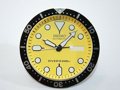 $ CDN31.56 • Buy New Replacement Yellow Dial,minute Track & Hands, Insert Fit Seiko Skx007 Diver