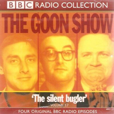 The Goon Show: The Silent Bugler: Volume 17 (2xCD A/Book 1999) **NEW/SEALED** • 4.99£