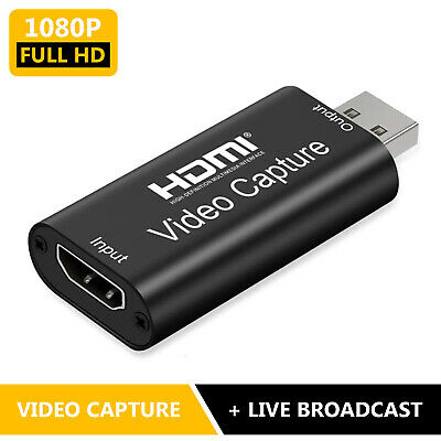 HDMI To USB 3.0 2.0 Audio Video Capture Card Game Recording Box & Live Streaming • 7.99£