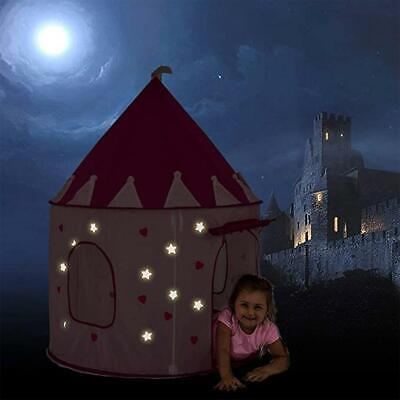 Children's Play House Toy Tent Indoor Outdoor For Girl Boy Fairy Castle Toy Tent • 11.37£