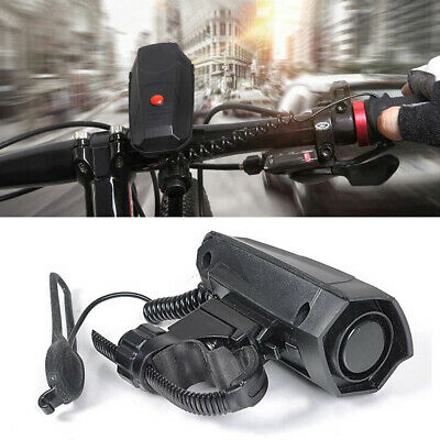 110dB Cycling Battery Powered Durable Safety Black Riding Loud Bike Horn UK • 8.74£
