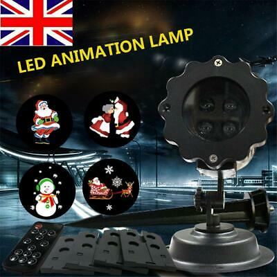 Christmas House Outdoor LED Projector Xmas With Remote Controller Garden Party • 15.89£
