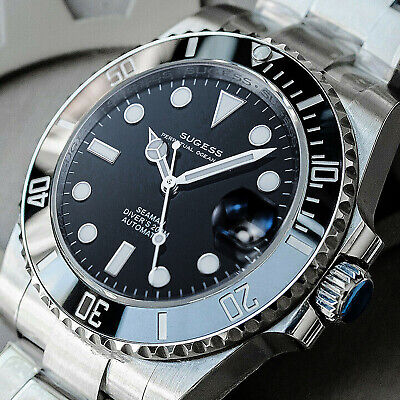$ CDN213.40 • Buy Sugess ISO-6425 Genuine Ceramic Bezel X 904L Steel 200m DIVER'S Watch SU116610LN