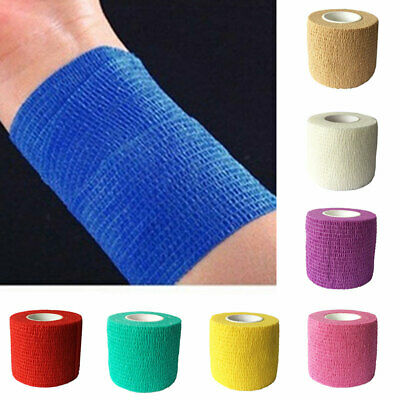 Elastic  Bandage Stretchy Sports Lifting Rugby Strapping Tape Hand Strap • 2.37£