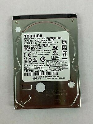 $ CDN528.51 • Buy LOT OF 10 Toshiba 1TB MQ02ABD100H  SATA 2.5  SSHD Solid State Hybrid Hard Drives