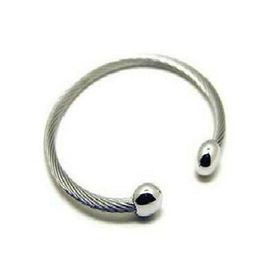 $ CDN22.20 • Buy Ionized Cable Ying Yang Ray Bracelet  Chi (Q I )  Golf ~ 300 Sold LARGE NEW