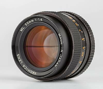 Yashica ML 50mm F1,4 Lens For Contax Shp 42864 • 129.60£