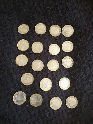 2 Pound Coin Job Lot Of 19 Coins. £2 Two Pound, Collectable #coinhunt • 49£